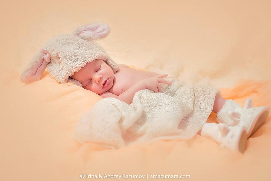 фотосессия новорожденных в санкт-петербурге