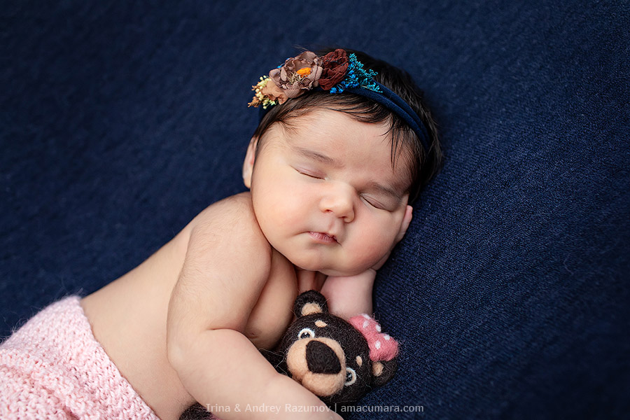 Newborn - фотосъемка новорожденных