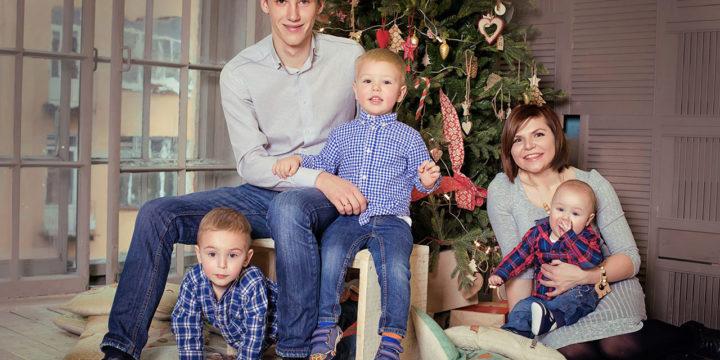 Новогодняя семейная
