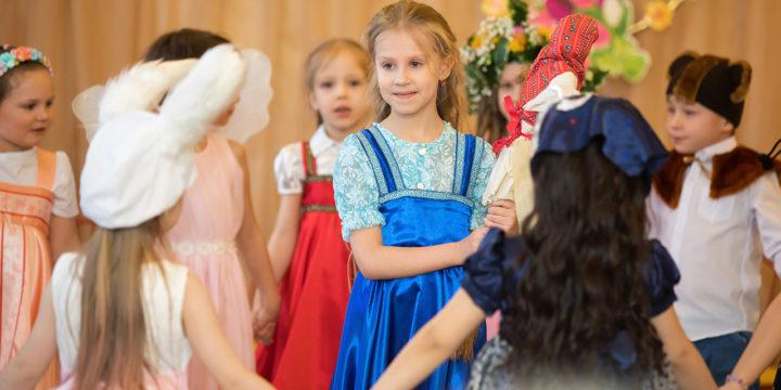 Праздник весны в Детском саду №86