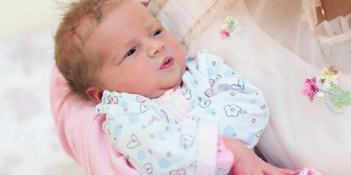 Выписка новорожденной Анны