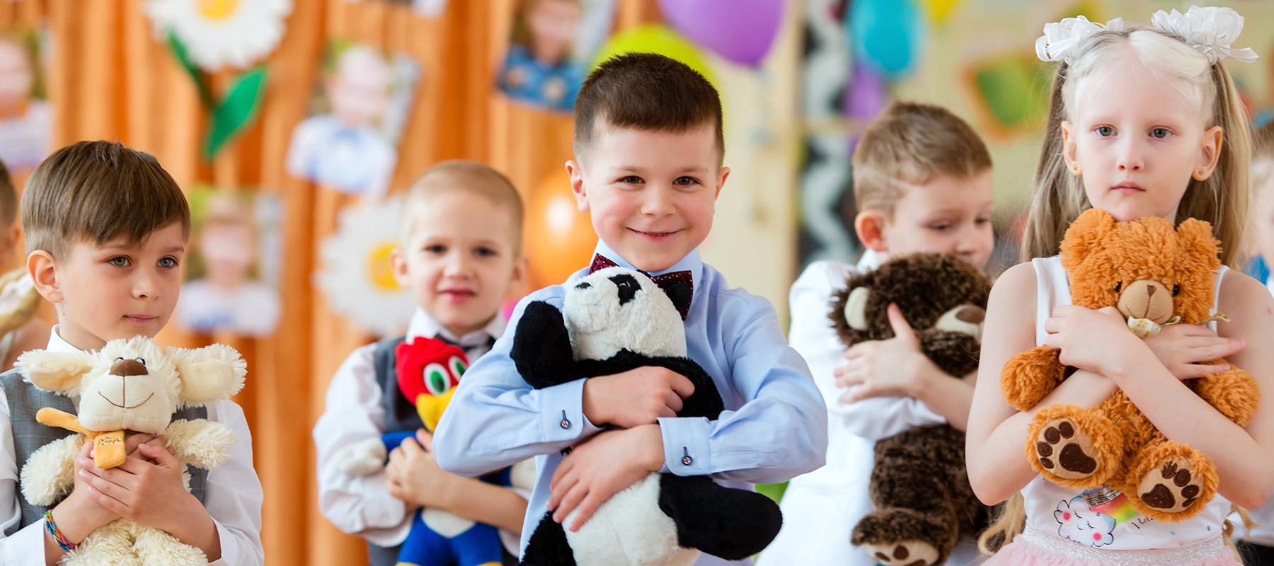 Выпускные и праздники в детском саду